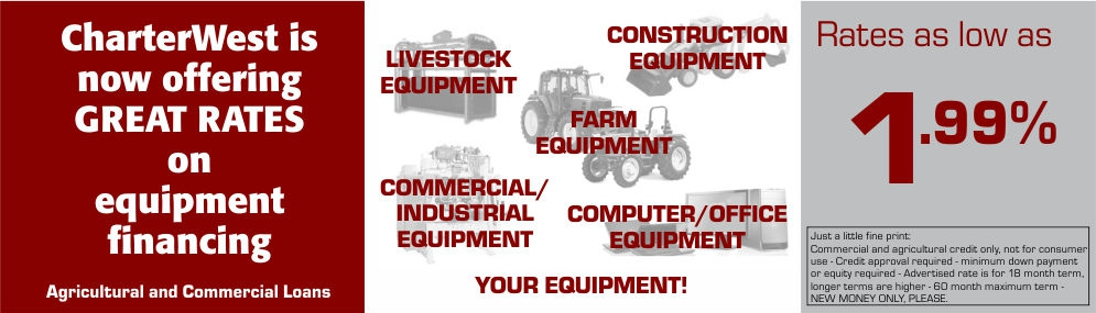 Equipment Special Ad for Website